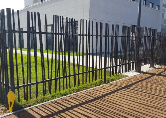 Tarif au ml vente et pose d'une clôture en grillage galvanisé simple torsion avec poteaux bois à Vernon dans l'Eure
